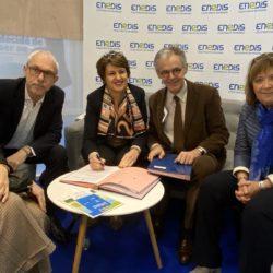 Signature de la convention de partenariat avec Enedis