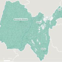 Publication sur le site de l'ARCEP des cartes départementales de la couverture 4G