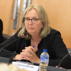 Participation de Pascale Boyer à la réunion conclusive du groupe de travail sur les meublés de tourisme