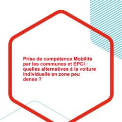 Une étude sur la prise de compétence mobilité par les communes et les EPCI