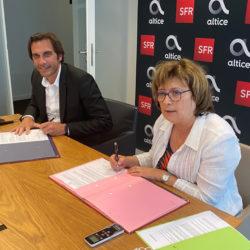 Altice SFR et l'ANEM signent leur partenariat pour 2021
